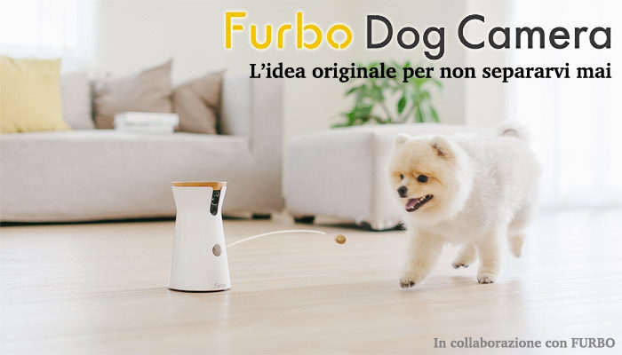 Videocamera per cani FURBO Dog Camera