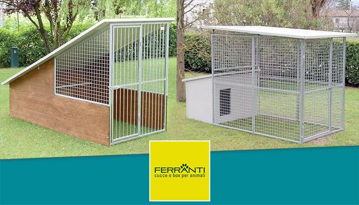 Box per cani da giardino Ferranti