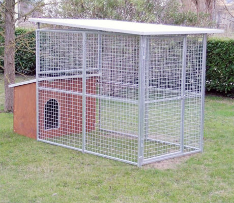 Box per cani da giardino modello ECO