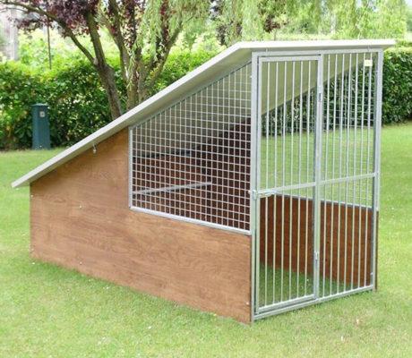 Box per cani da giardino modello Labrador