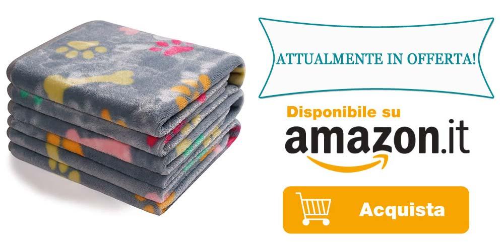 Copertine per cani in offerta su Amazon
